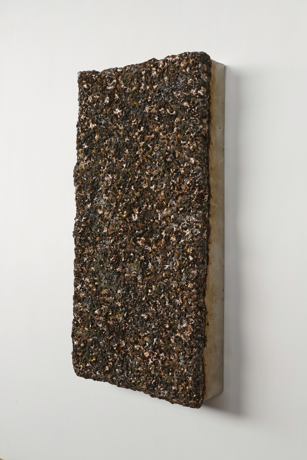 Surface Response (IV), Bronze, stainless steel