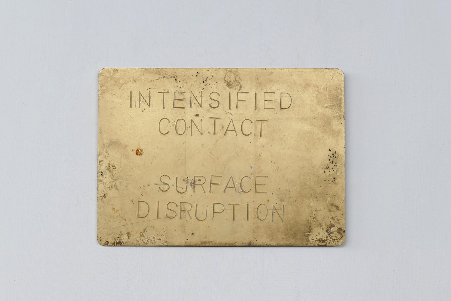 INTENSIFIED CONTACT SURFACE DISRUPTION