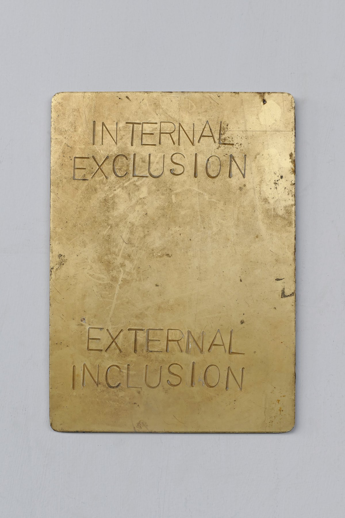 Internal Exclusion External Inclusion