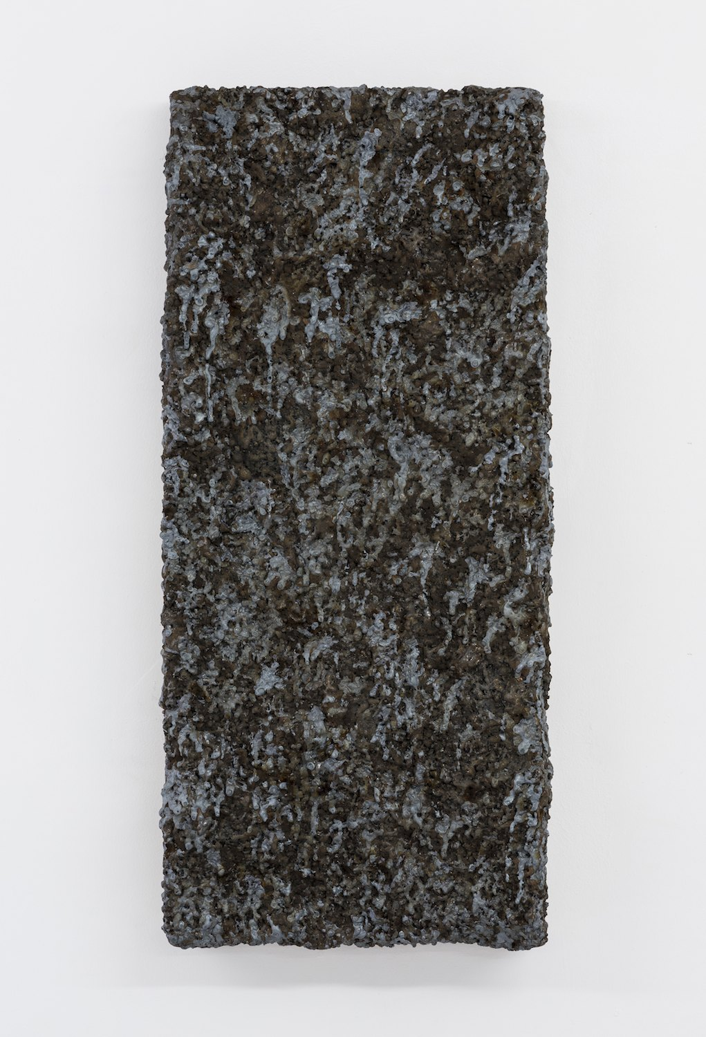 Surface Response (II), Thermic lance, slag, stainless steel