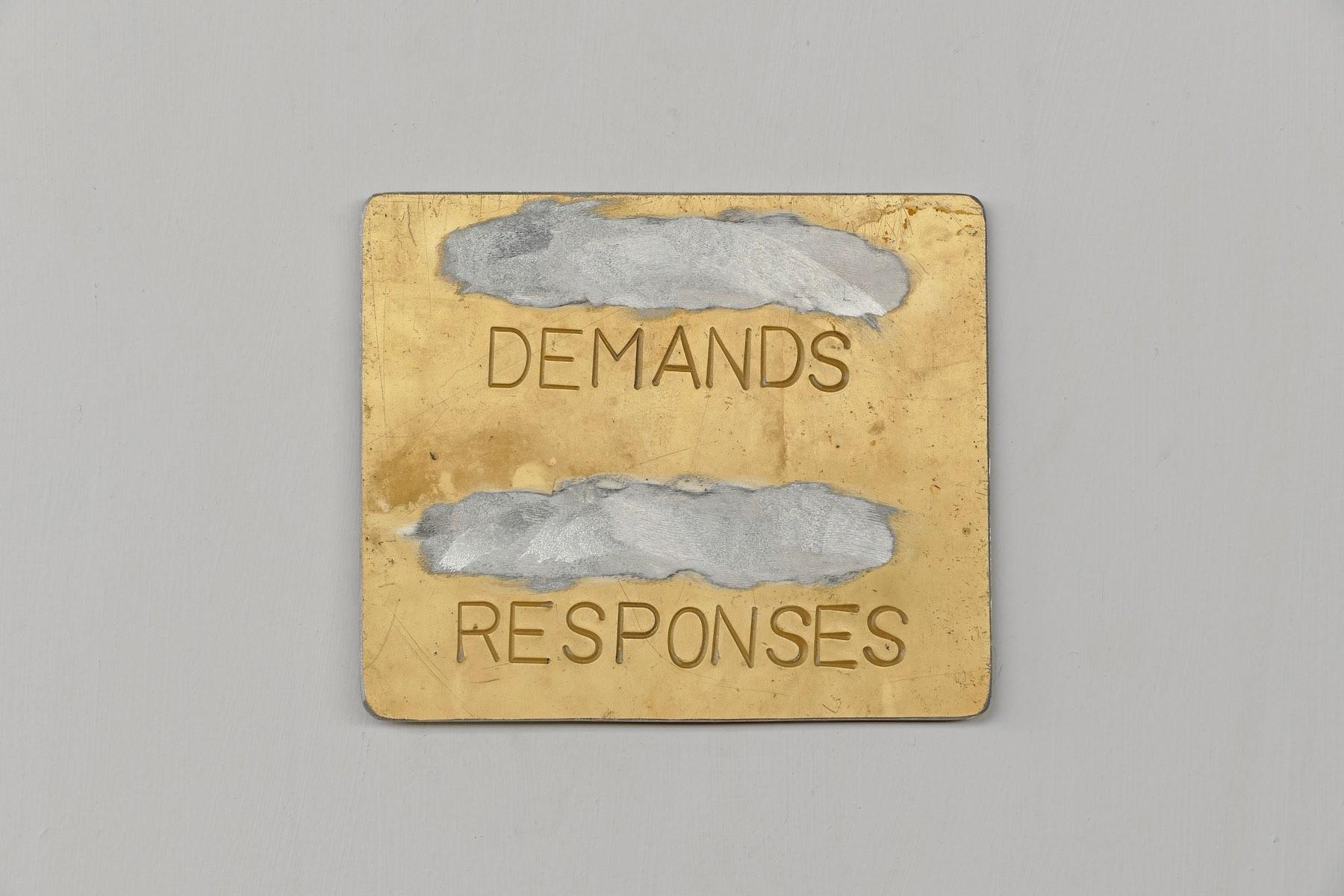 _______DEMANDS_______RESPONSES Ed.1